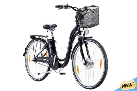prophete alu elektro fahrrad e100 f r 666 bei real. Black Bedroom Furniture Sets. Home Design Ideas
