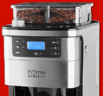 home electric kaffeemaschine f r 79 99 bei penny sparblog. Black Bedroom Furniture Sets. Home Design Ideas