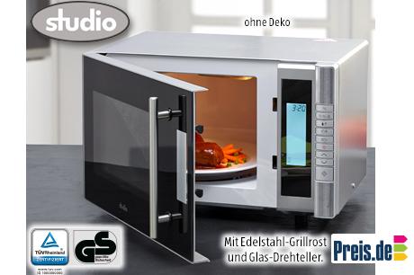 Aldi Kühlschrank Studio : Studio mikrowelle mit grill für u ac bei aldi süd preis