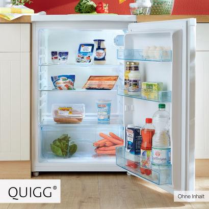 Quigg Kühlschrank mit 130 Litern Volumen für 129 € bei Aldi Nord